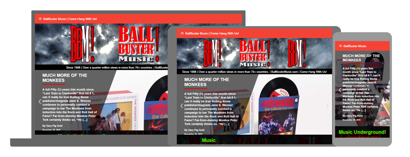 BallBuster Music Responsive Example
